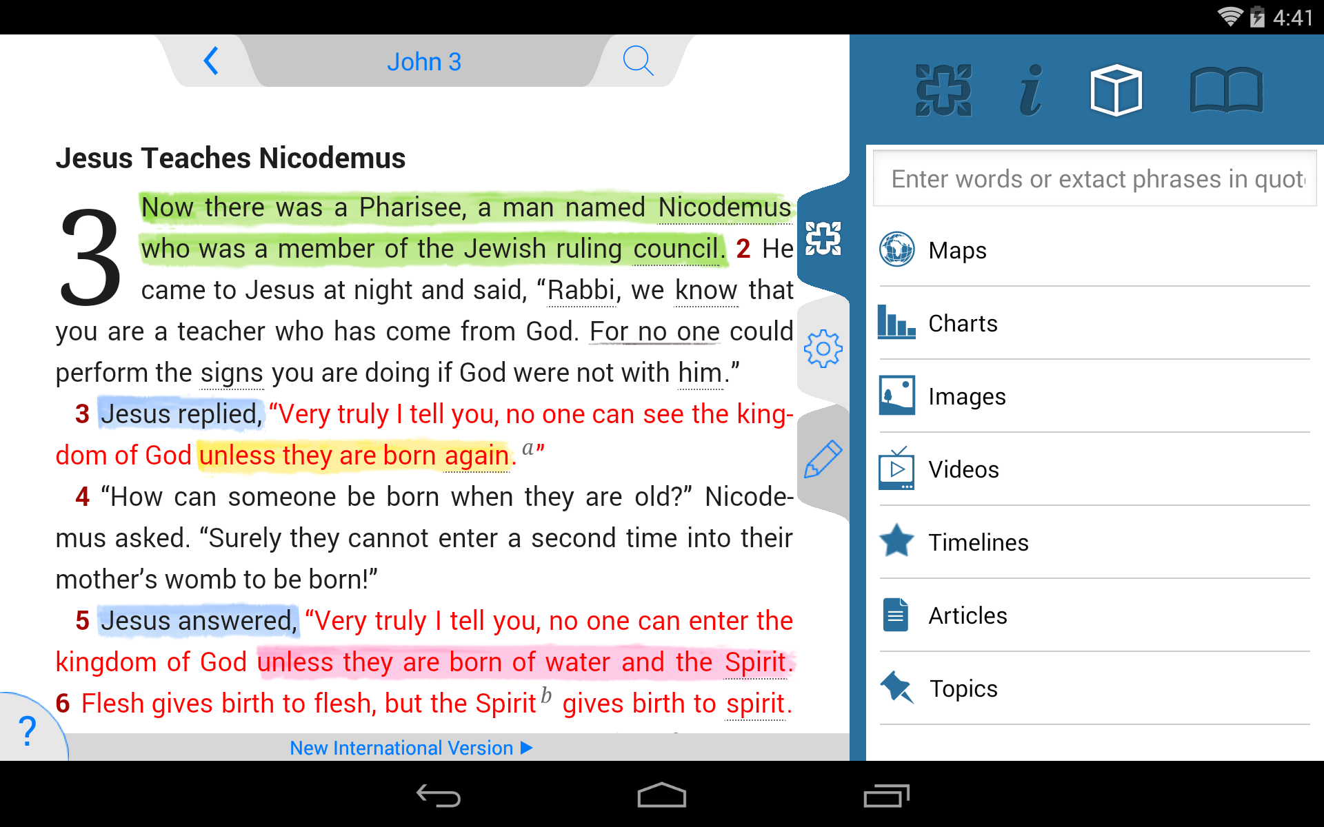 NIV Study Bible screenshot #19