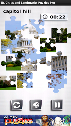 USA City Landmark Puzzle Pro