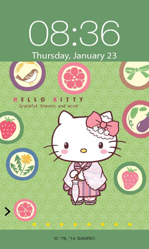 Hello Kitty Japan Screen Lock
