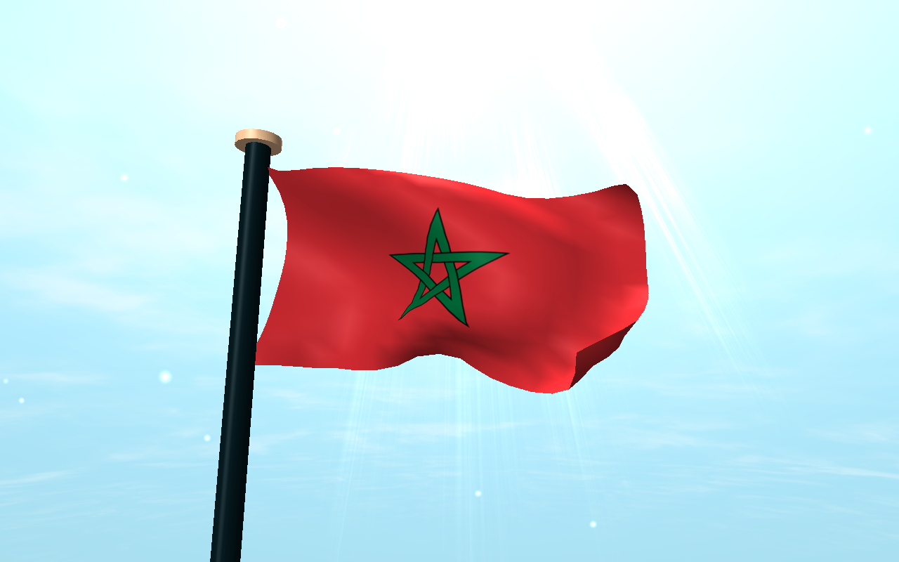 Morocco Flag 3d Free Wallpaper Android Apps On Google Play