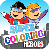 Super Coloring Heroes