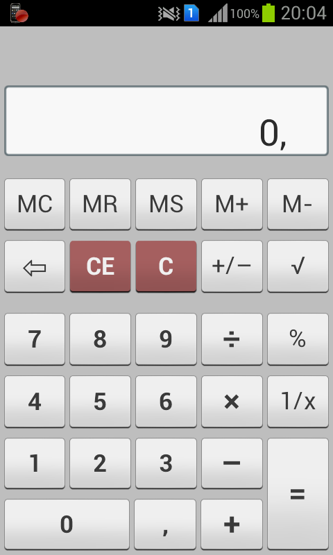 MyCalc Calculator - screenshot