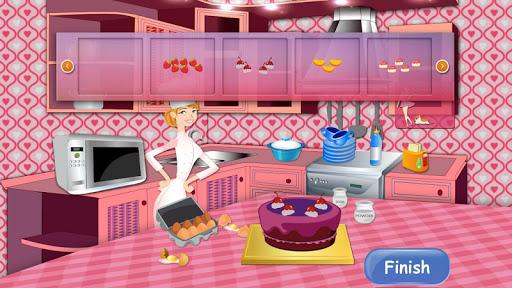 美味的蛋糕烹飪