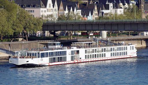 Viking-Ingvi-Cologne2 - The river cruise ship Viking Ingvi in Cologne, Germany.