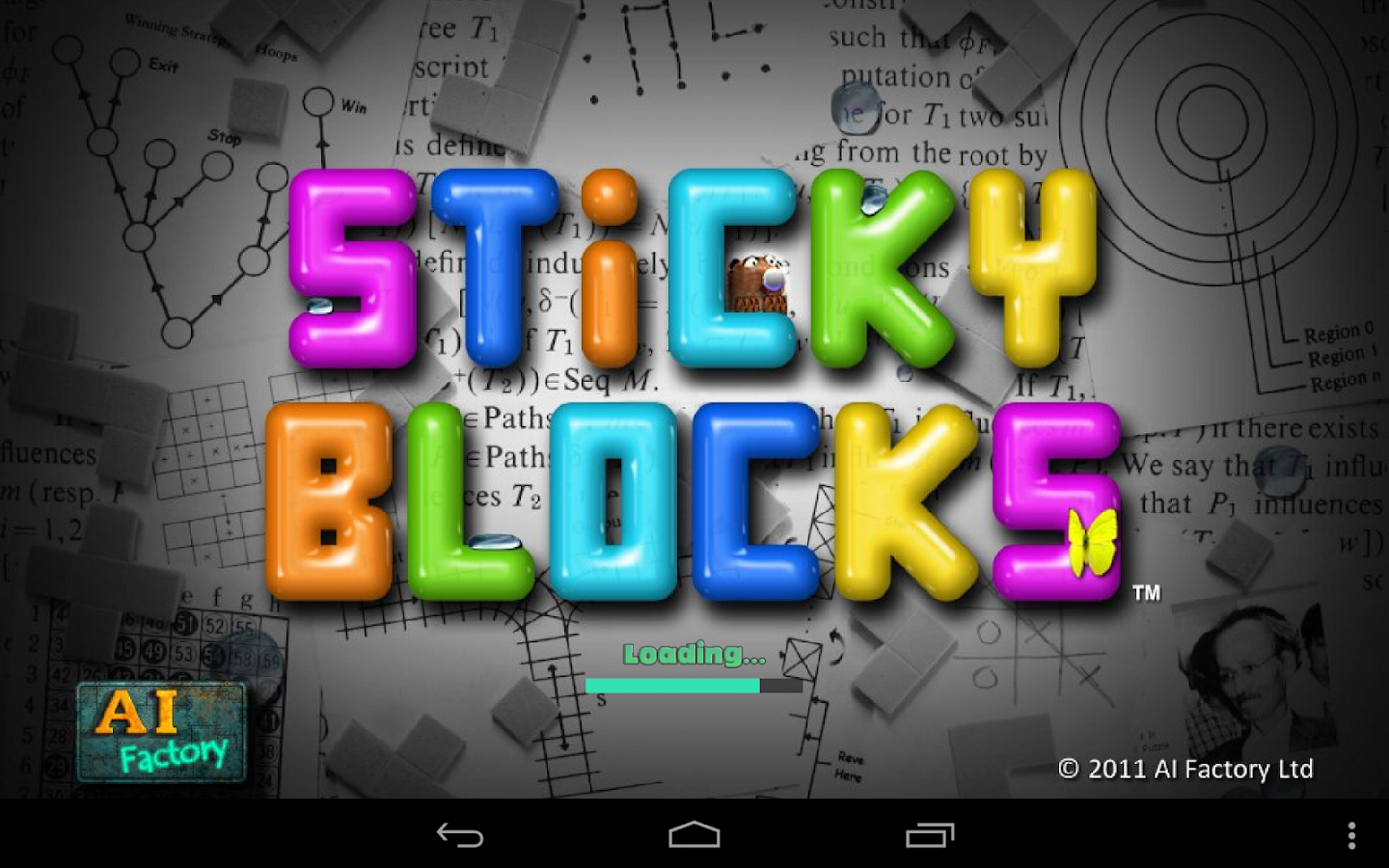 Sticky Blocks - screenshot