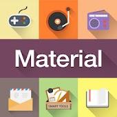 Material Atom Iconpack