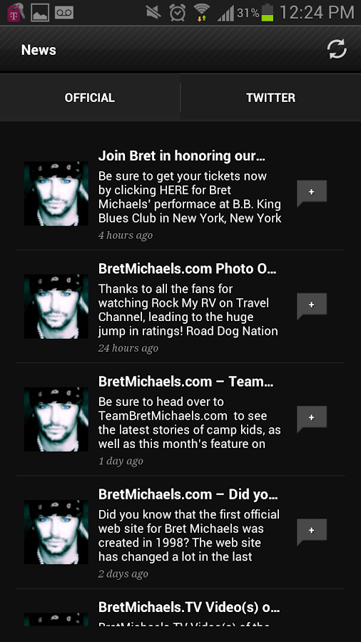Bret Michaels - screenshot