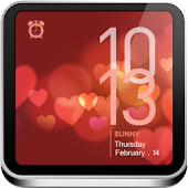 Valentine's Day Clock