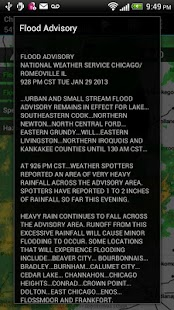 Radar Express - NOAA Weather - screenshot thumbnail