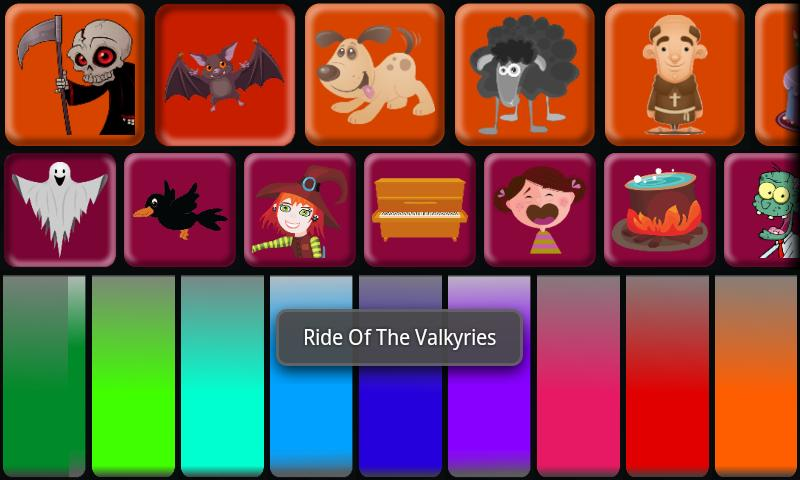 Kids Halloween Piano Free- screenshot