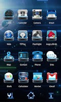 Screenshot of Next Launcher Theme SpaceFax