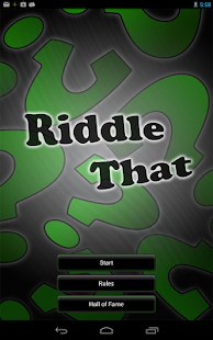 Riddle That - screenshot thumbnail