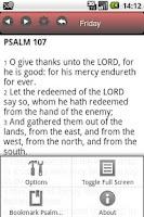 Screenshot of OKtm Psalms