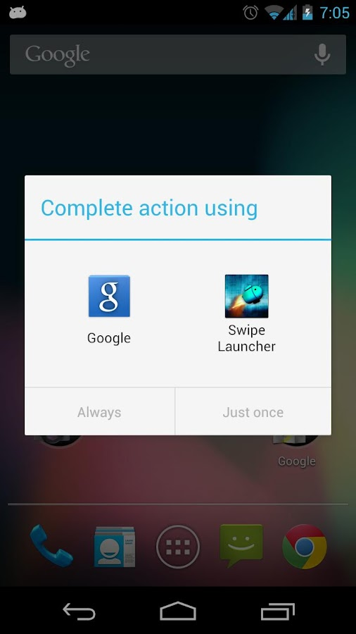 Swipe Launcher- screenshot