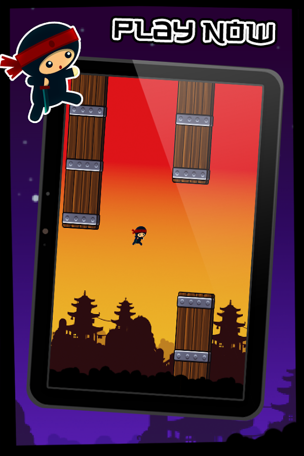 Floppy Bird - Ninja Iron Man - screenshot