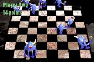 Screenshot of Monster Checkers