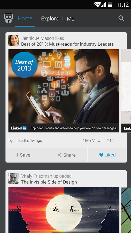 LinkedIn SlideShare- screenshot