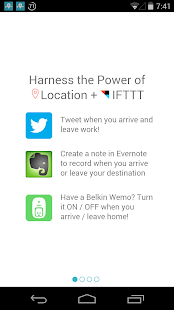 LIFTTT - Location for IFTTT- screenshot thumbnail