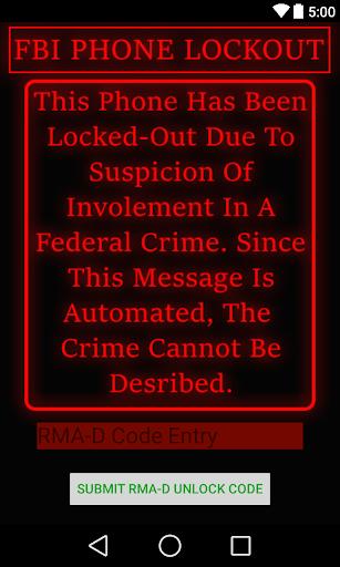 FBI Warning Prank