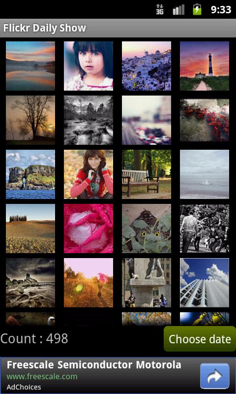 Flickr Daily Show - screenshot