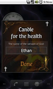 Candle for the health