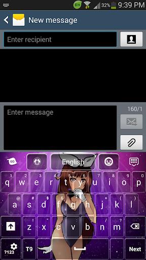 Sexy Anime Keyboard