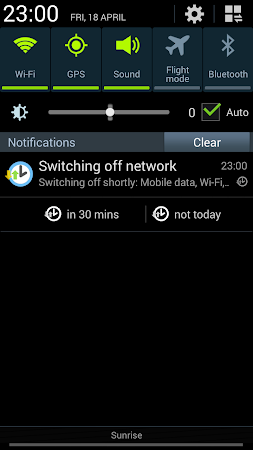 Network Scheduler Wifi 3G BT 1.6 screenshot 1353629
