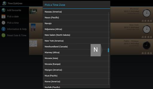 【免費生產應用App】Time Zones - Z(oh!)nes-APP點子