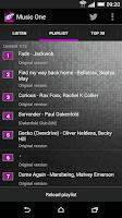 Screenshot of Music One