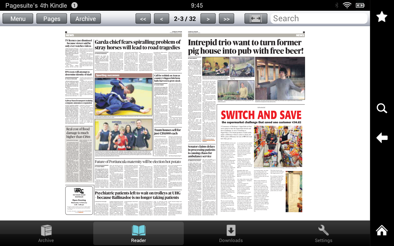 The Connacht Tribune- screenshot