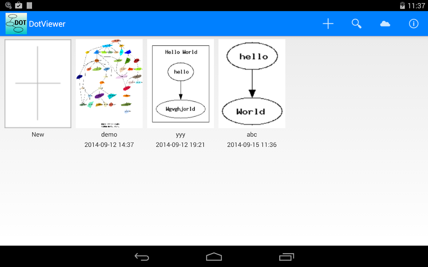 Dot Graph Viewer- screenshot