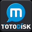 토토디스크M - 영화,방송,애니,미드,성인 콘텐츠 감상 icon