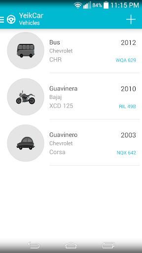 YeikCar - Vehicle Management