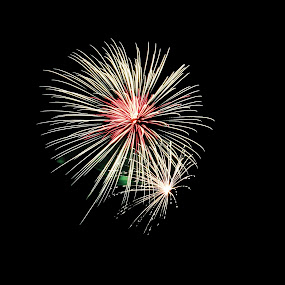by Joel Eade - Abstract Fire & Fireworks