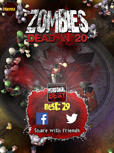 Zombies Dead in 20 v1.0.9