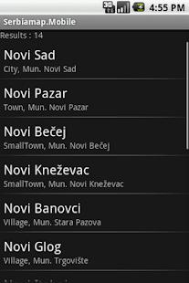 Serbiamap.Mobile- screenshot thumbnail