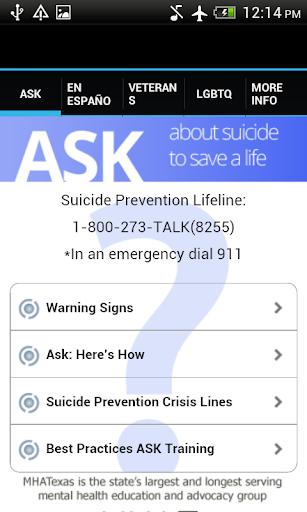 ASK Prevent Suicide