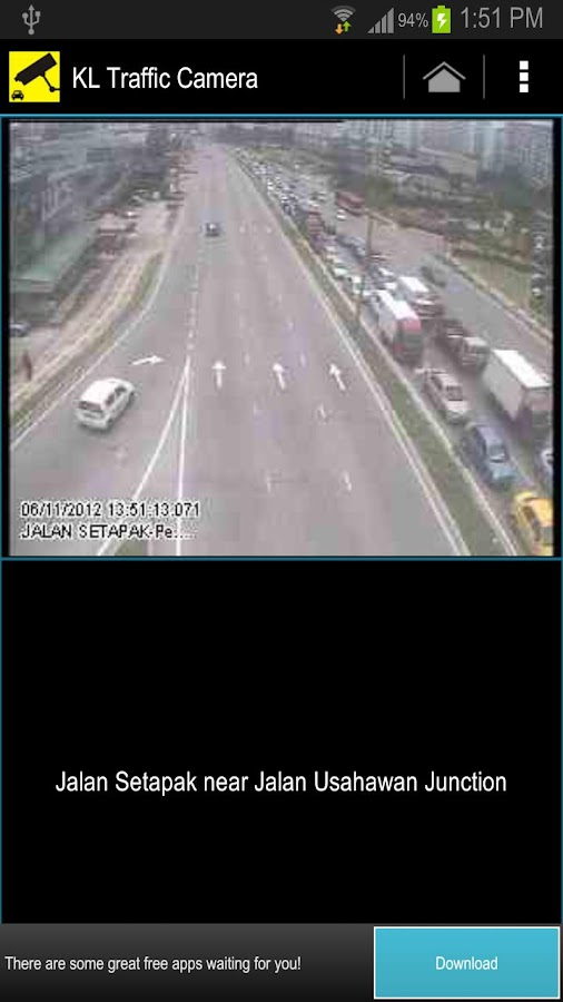 KL Traffic Camera - screenshot