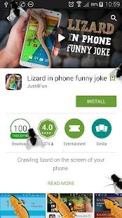Mouchy v telefonním vtip - náhled