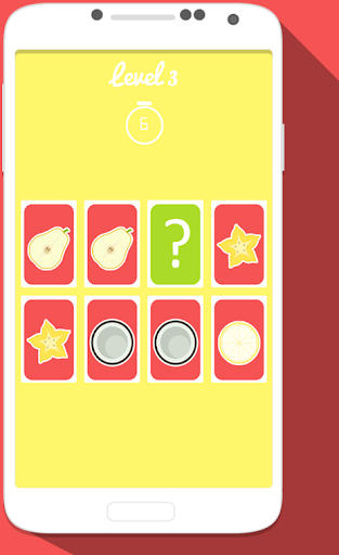 Fruits Match Up Game For Kids
