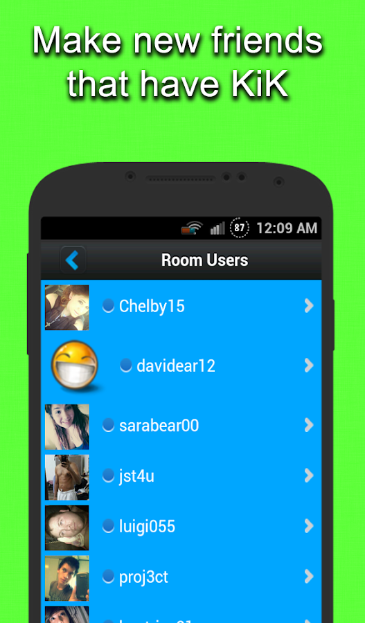 Chat rooms for kik android apps on google play for Kids video chat rooms