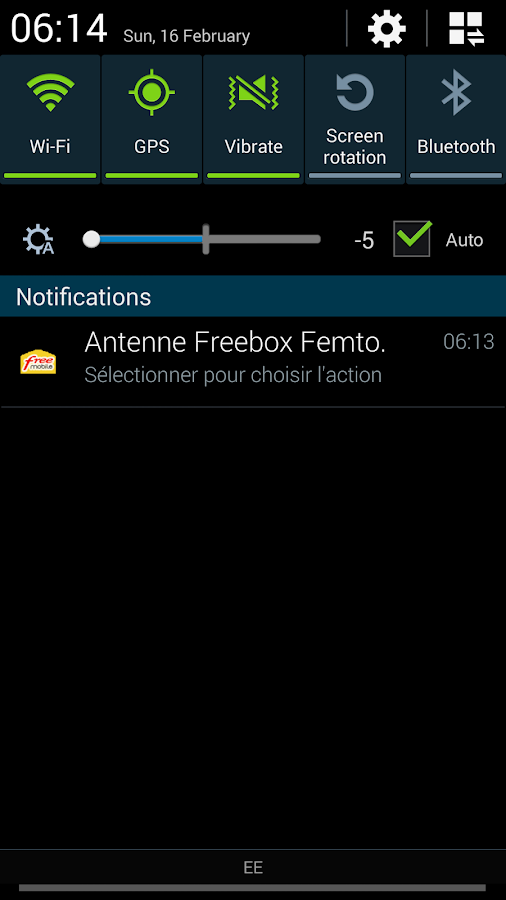 Appli android antenne free mobile