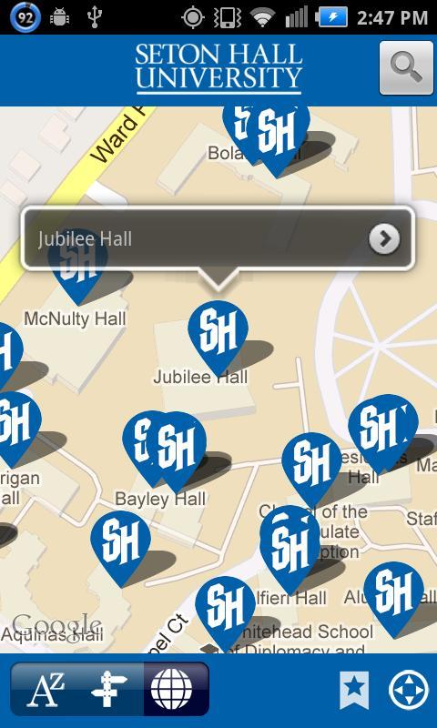 Seton Hall University Campus Virtual Tour