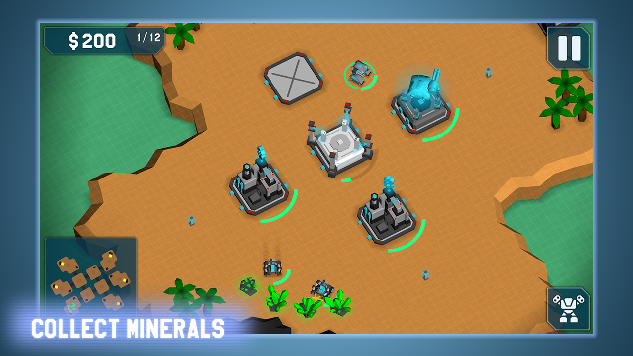 MechCom - 3D RTS- screenshot