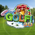 Cup! Cup! Golf 3D! logo