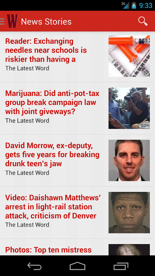 Westword- screenshot