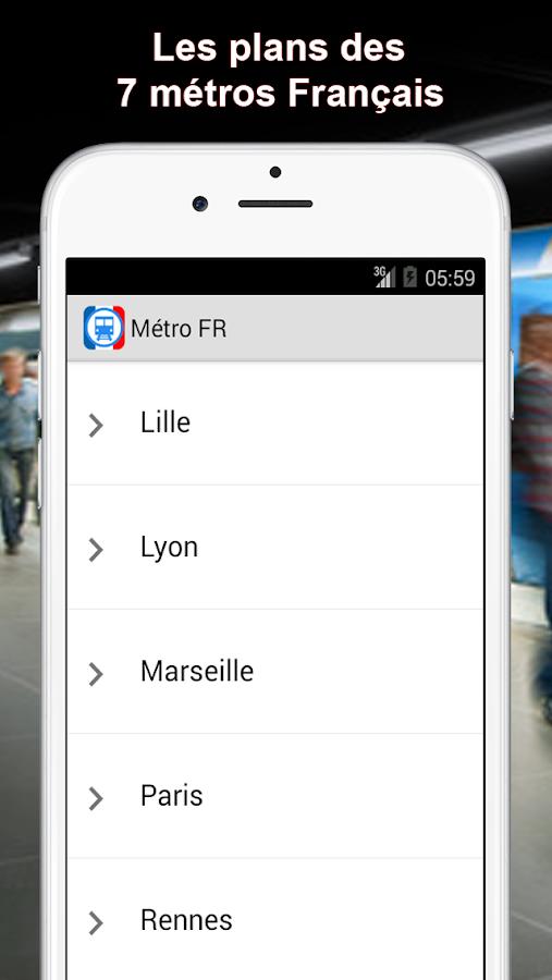 metro fr paris lyon marseille android apps on google play. Black Bedroom Furniture Sets. Home Design Ideas