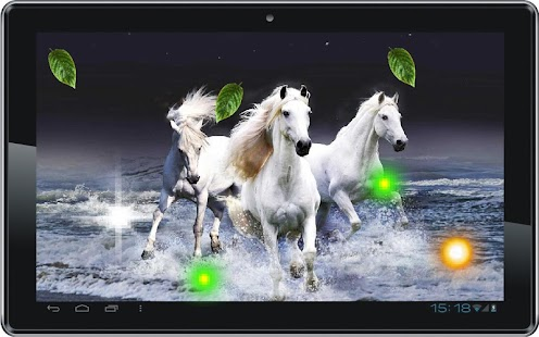 Horses Racing live wallpaper
