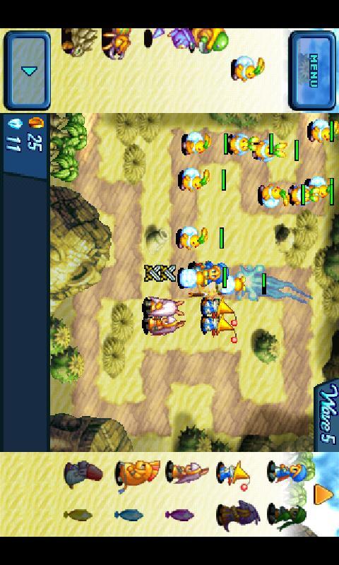 Crystal Defenders screenshot #4