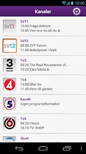 Telia Digital-tv, Zappa - screenshot thumbnail